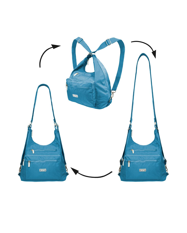 BergsFlexy Multifunctional Women's Bag Nylon Turquoise Medium