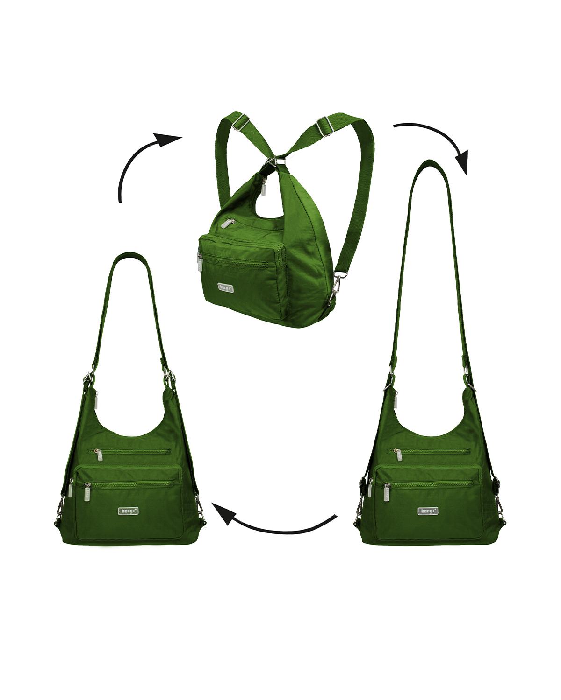 BergsFlexy Multifunctional Women's Bag Nylon Green Medium