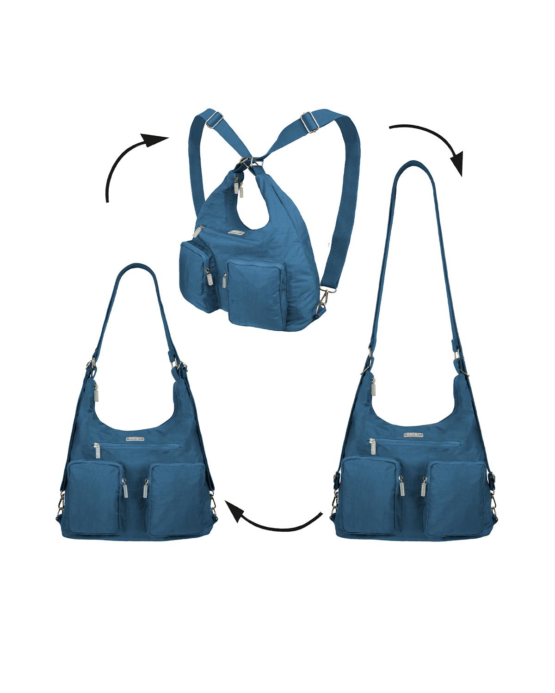 BergsFlexy Multifunctional Women's Bag Nylon Petrol Large
