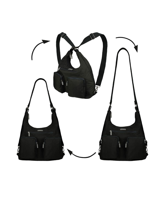 BergsFlexy Multifunctional Unisex Bag Nylon Black Large