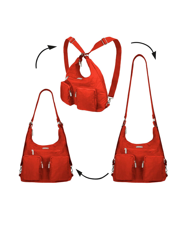 BergsFlexy Multifunctional Women's Bag Nylon Orange Large