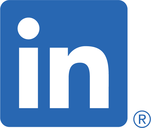 Linkedin blue logo