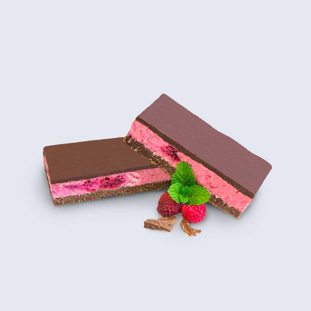 Raspberry & Coconut Slice