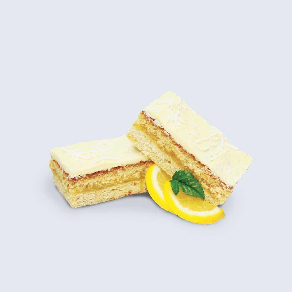 Zesty Lemon & Coconut Slice