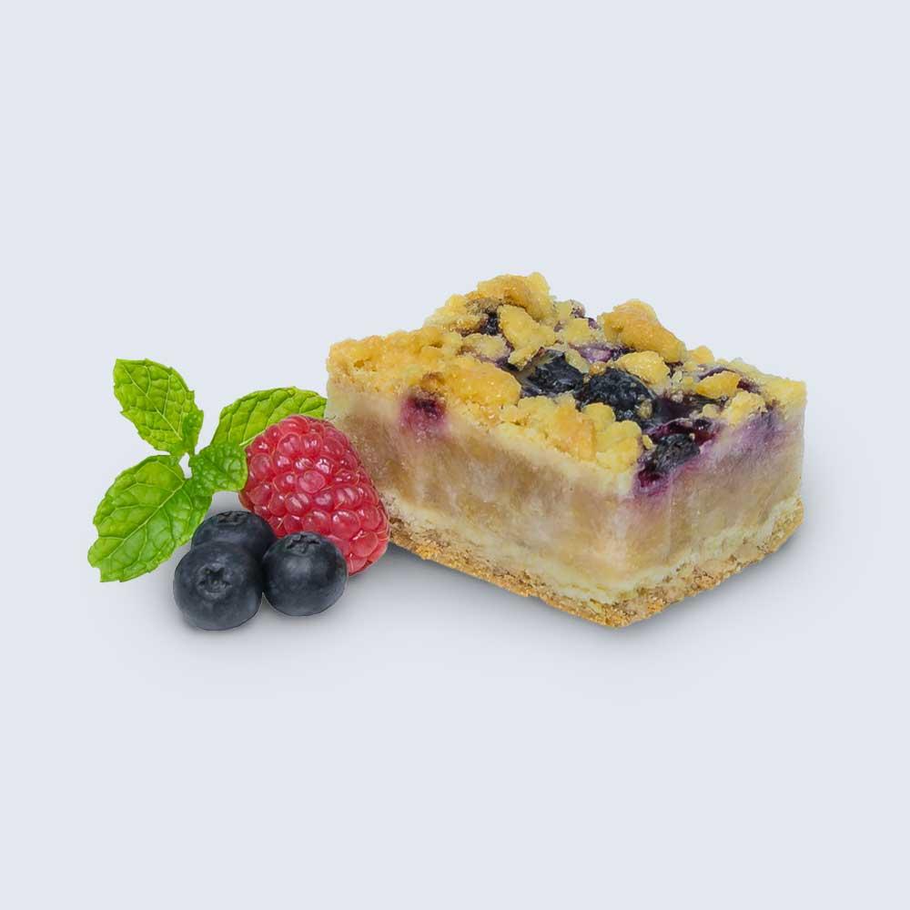 Apple & Mixed Berries Crumble