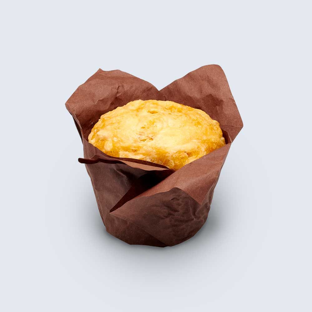 Cheese, Onion and Spinach Savoury Muffin