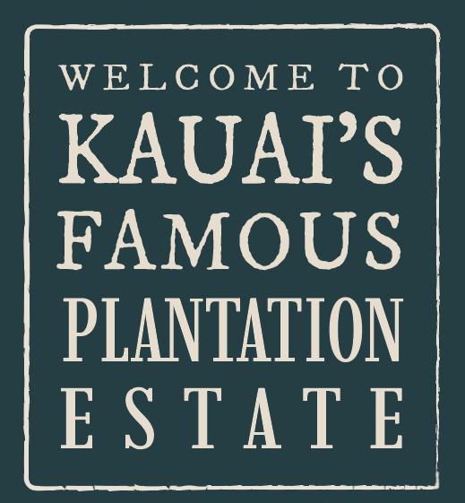 welcome to kauaiʻs famous plantation estate