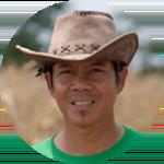 A Jiva farmer from Bantaeng, Indonesia.