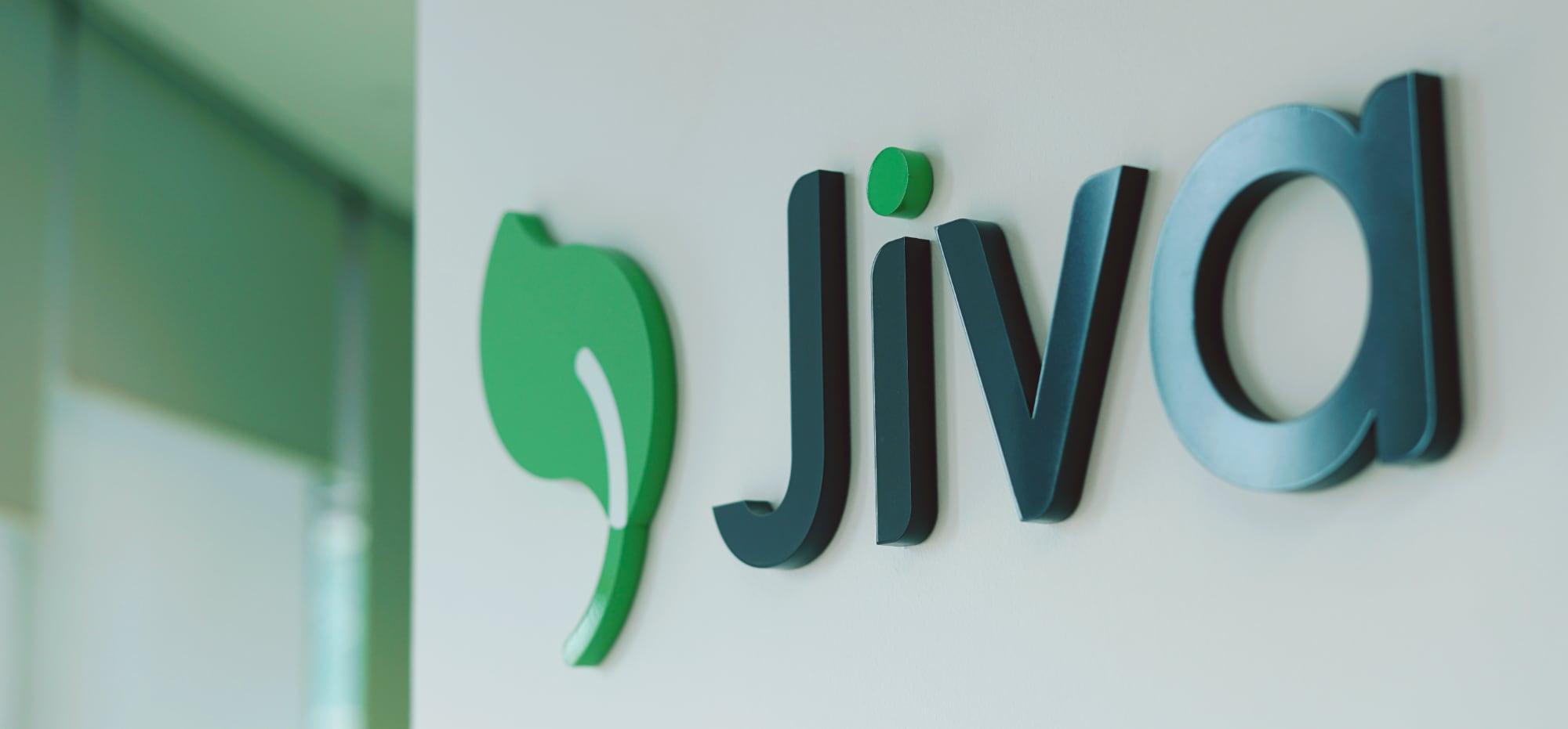 Jiva signboard.