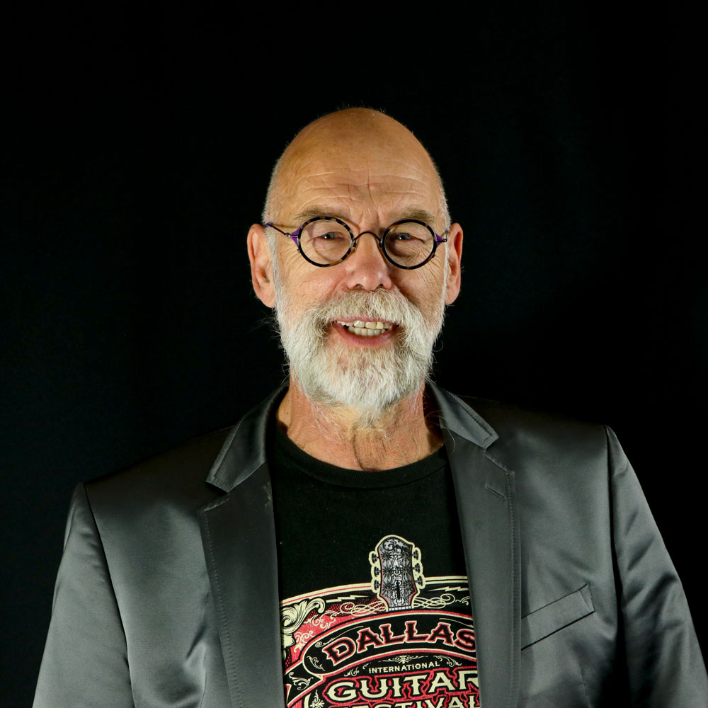 Evert Wilbrink Founder and CEO of TEYE Guitars