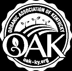Oak light logo. Barr Farms is a member of the Organic Association of KY. It's an organic farm near me.