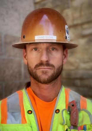 Chad G. Close - Foreman Bricklayer - Townsend & Schmidt Masonry