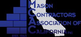 Mason Contractors Association of California logo