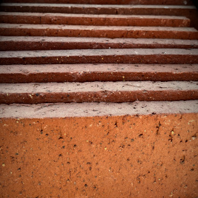 stacked thin brick