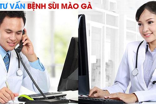 Bác sĩ tư vấn bệnh sùi mào gà online uy tín hiệu quả