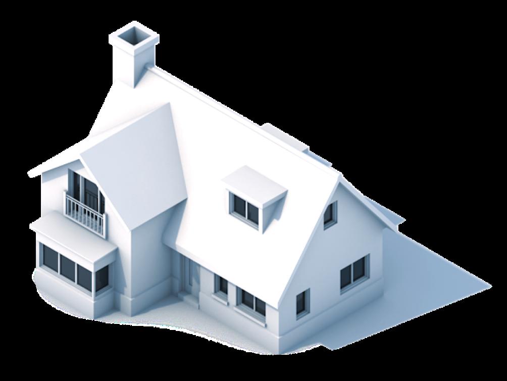 3D house illustration