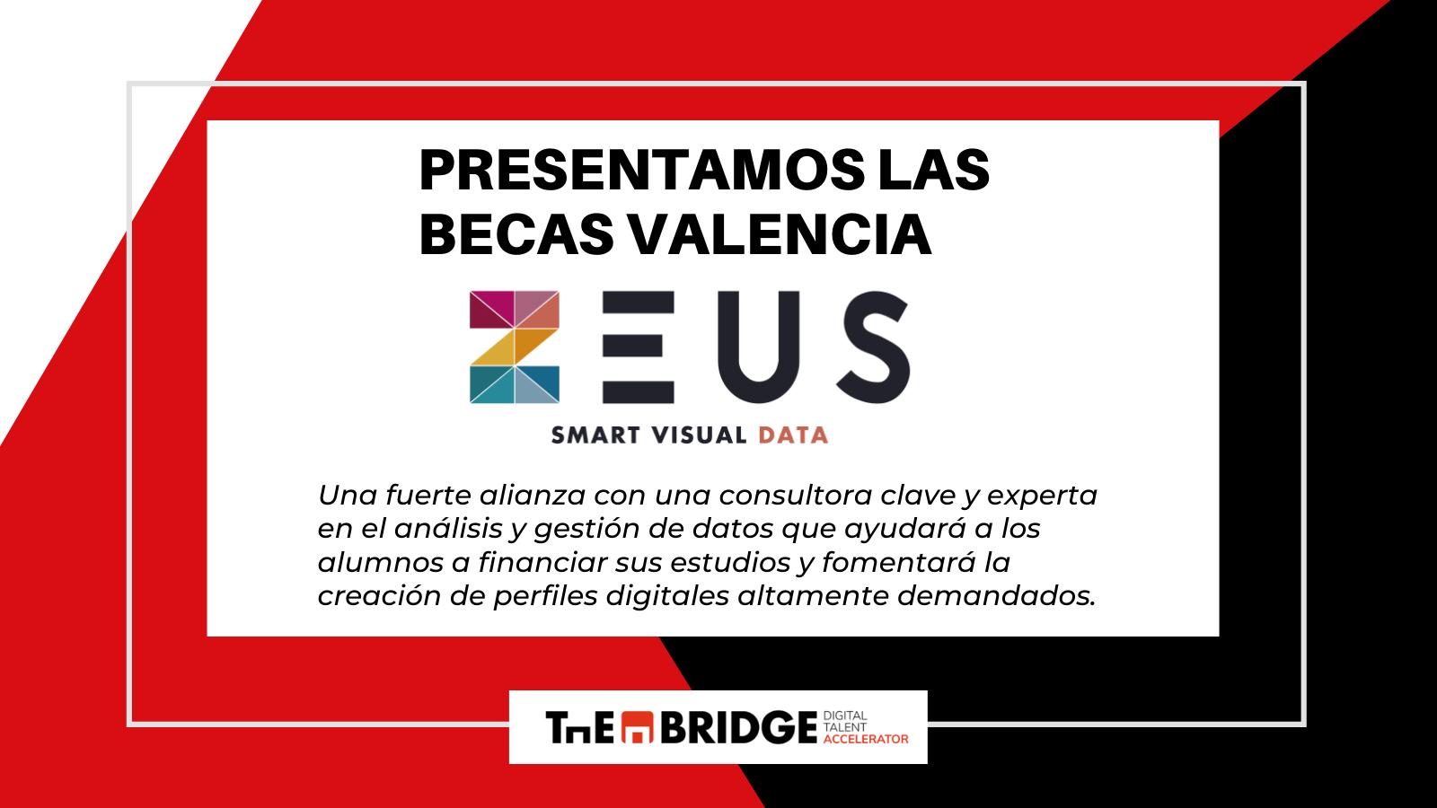 The Bridge y la consultora Zeus firman un acuerdo para potenciar la formación  de perfiles digitales en la Comunidad Valenciana