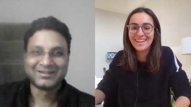 Georgia Barrie and Farhad Ali Learn.ink Q&A