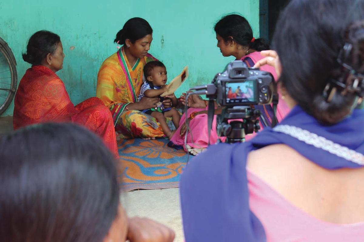 Digital Green Learn.ink training health workers