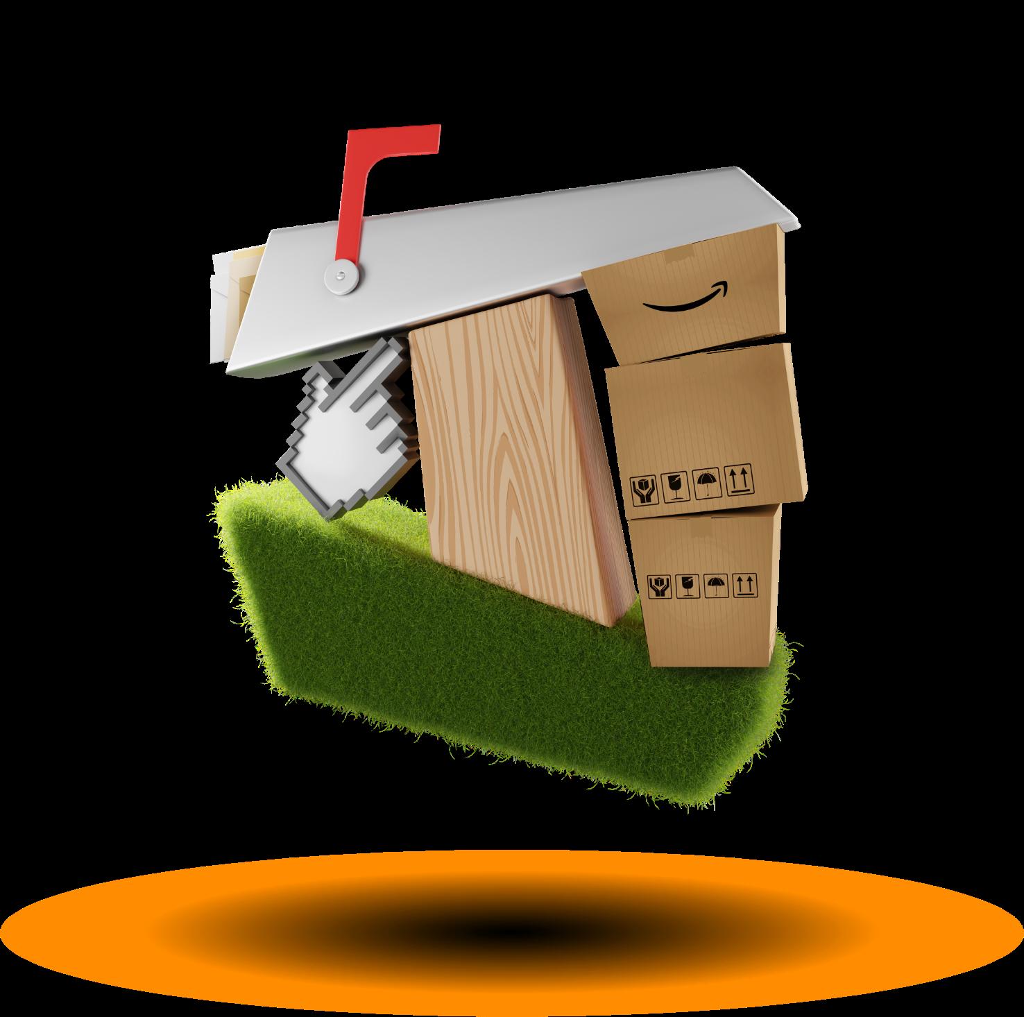 TMG mailbox 3D logo