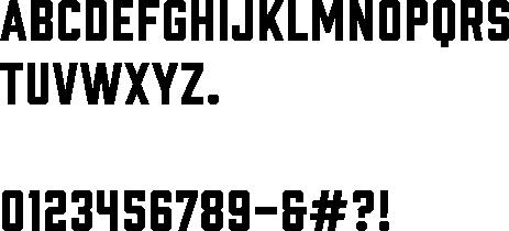 Prohibition font