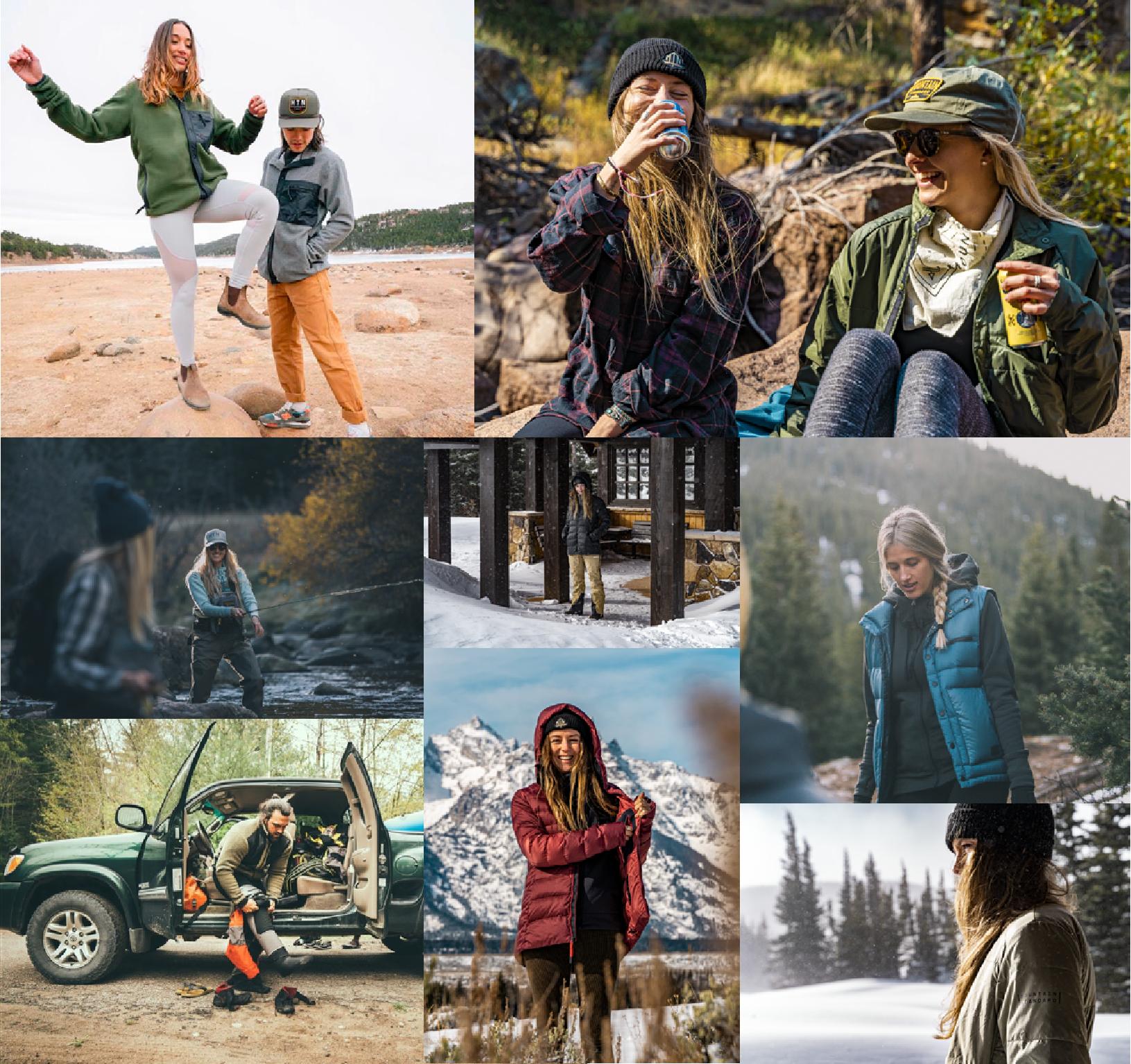 mountain standard photo collage