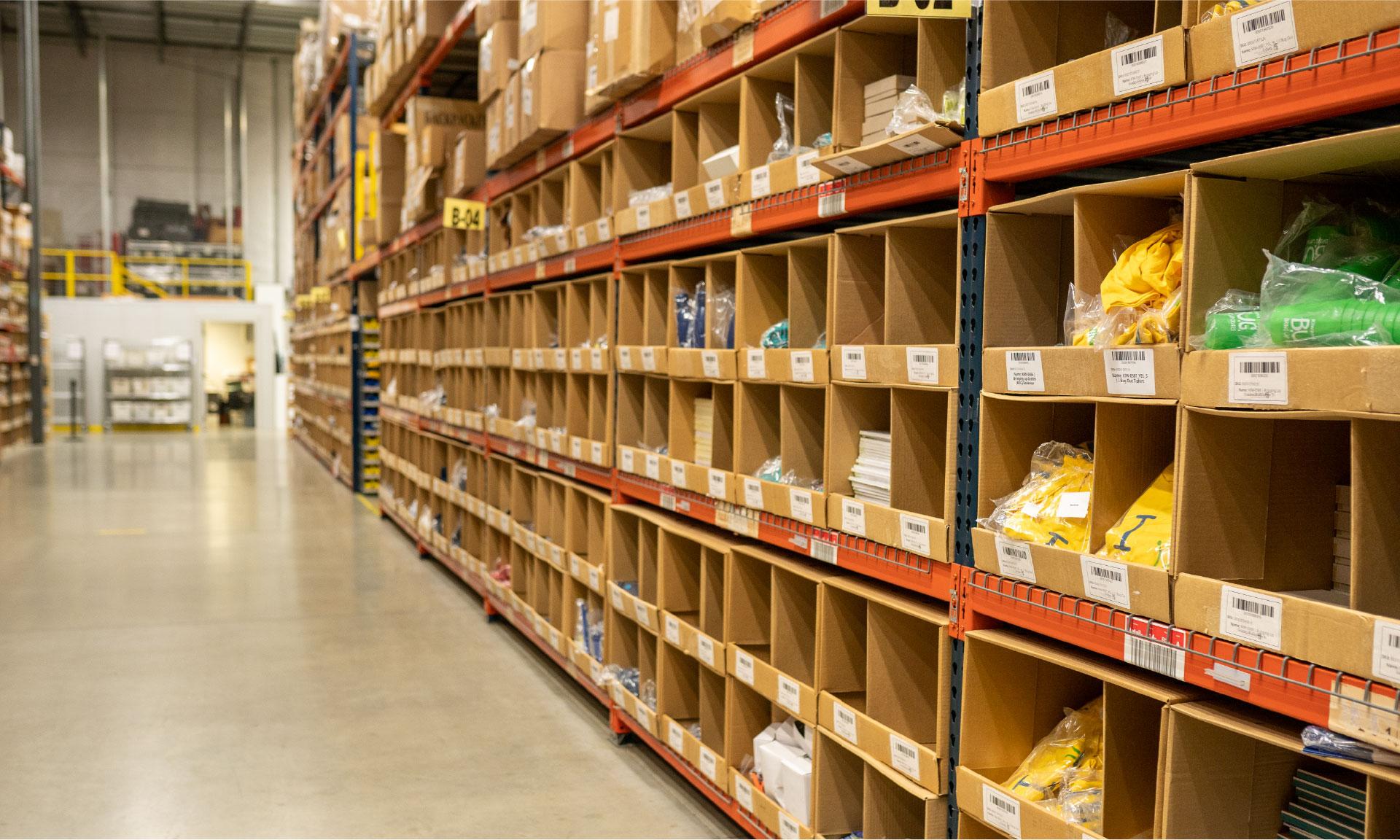 barstool sports warehouse and fulfillment