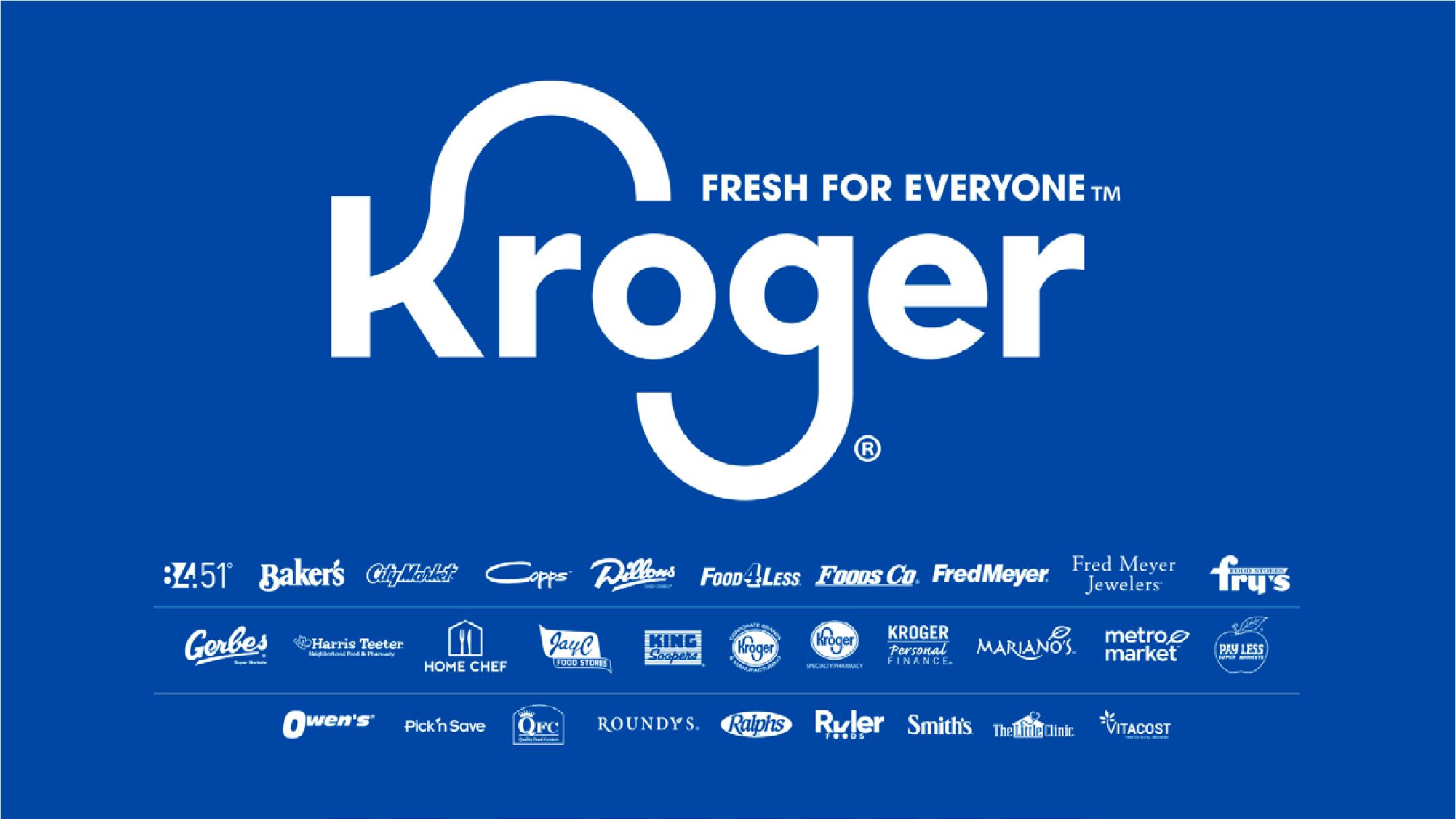 Kroger Fresh for Everyone brands