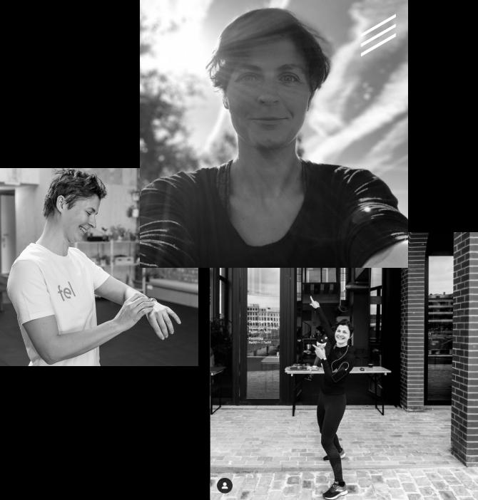 Collage van foto's van An Soenens