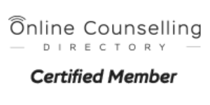 Online anxiety therapist certified with Online Counseling Directory