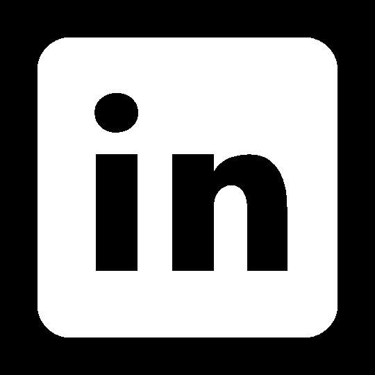 LinkedIn logo in white. ADA Drive
