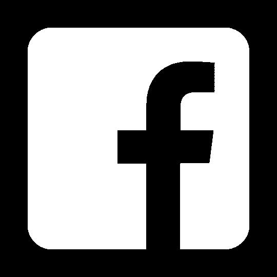 Facebook logo in white. ADA Drive
