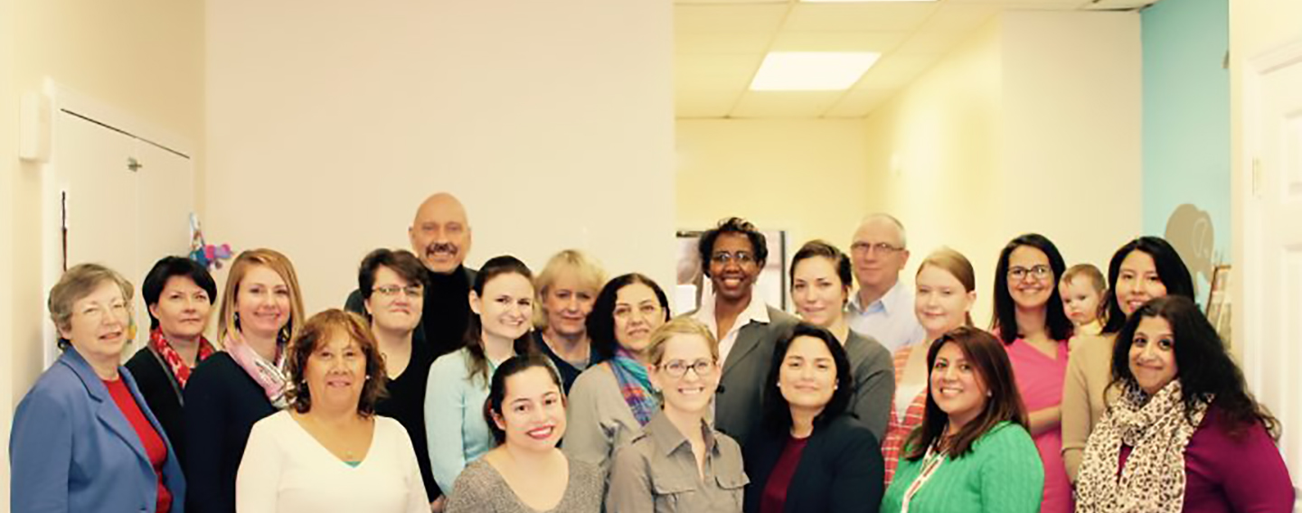 A photo of Homestretch board of directors and staff