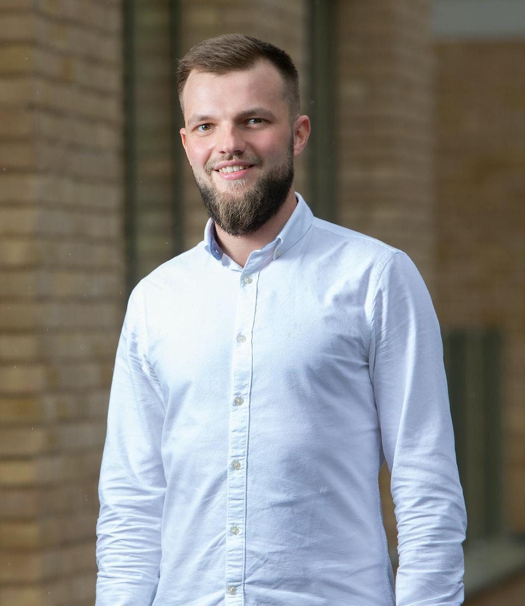 A profile shot of an Orbit team member.