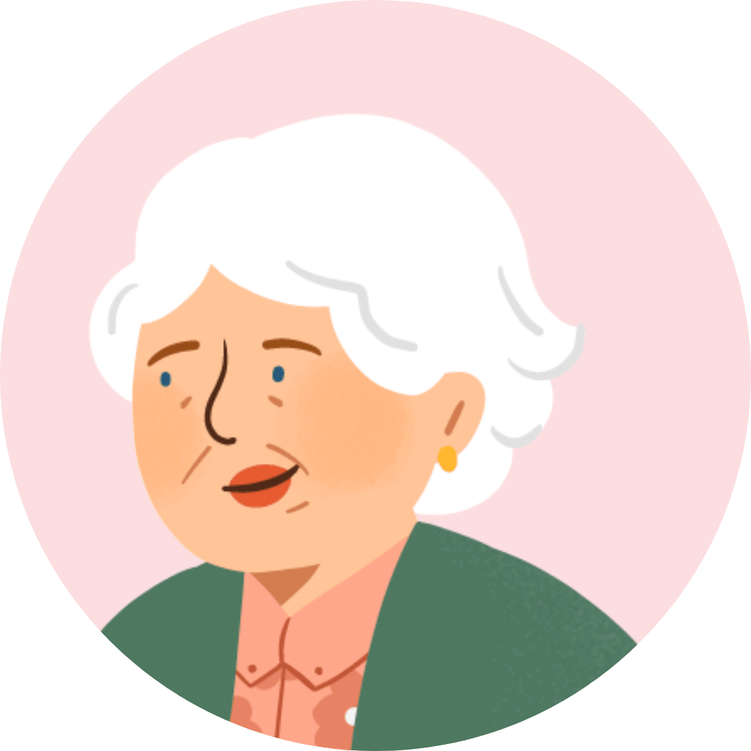 Illustration visage retraitée