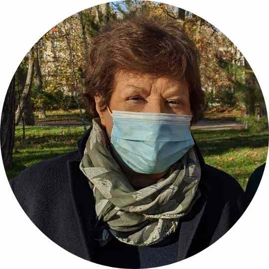 Photo de profil de Marie, 90 ans