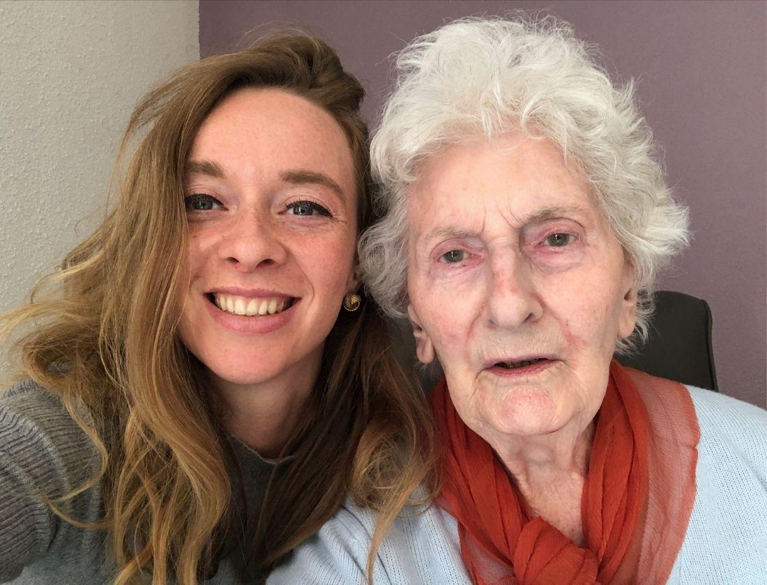 Céline Leblanc et sa Grand-mère