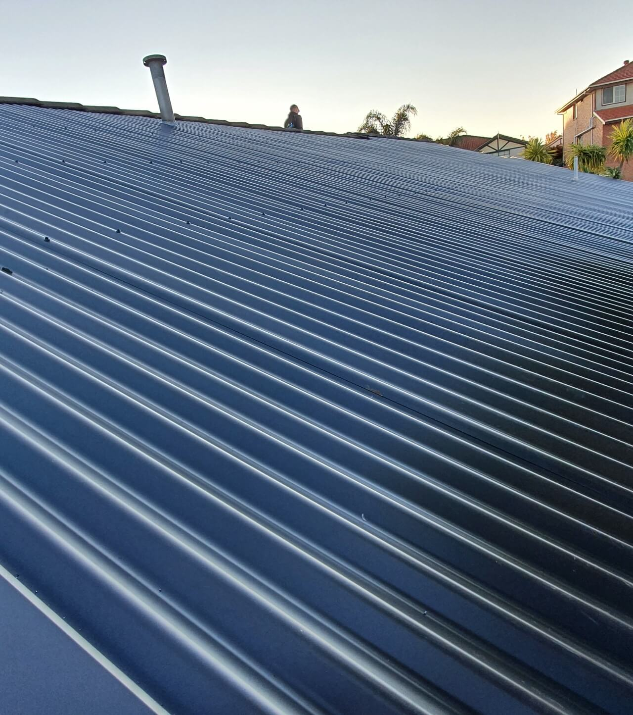 Colorbond metal roofing in the Melbourne suburbs