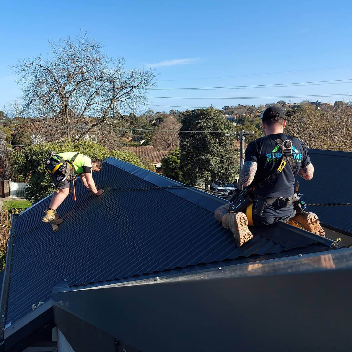 Supreme Roof Plumbing Instagram Image
