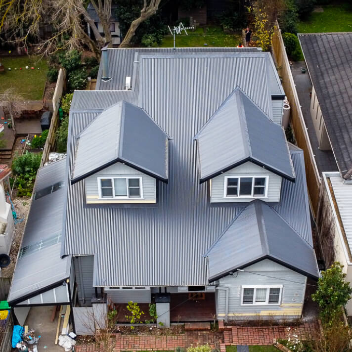 After image of Colorbond roof replacement in Glen Iris, Melbourne