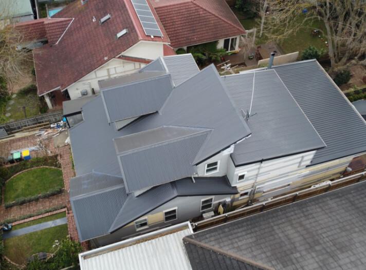 Colorbond roof replacement in Glen Iris