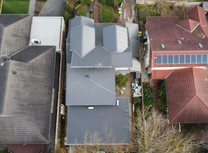Colorbond roof replacement by Supreme Roof Plumbers