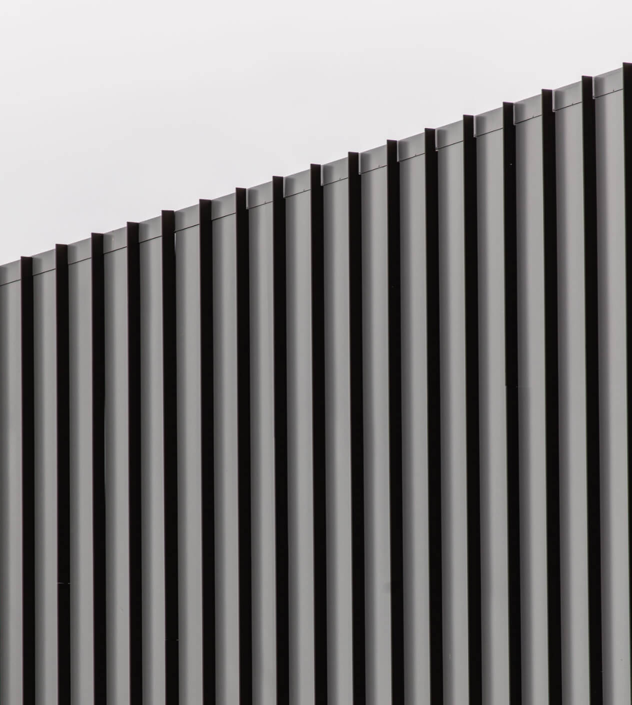 Colorbond metal wall cladding