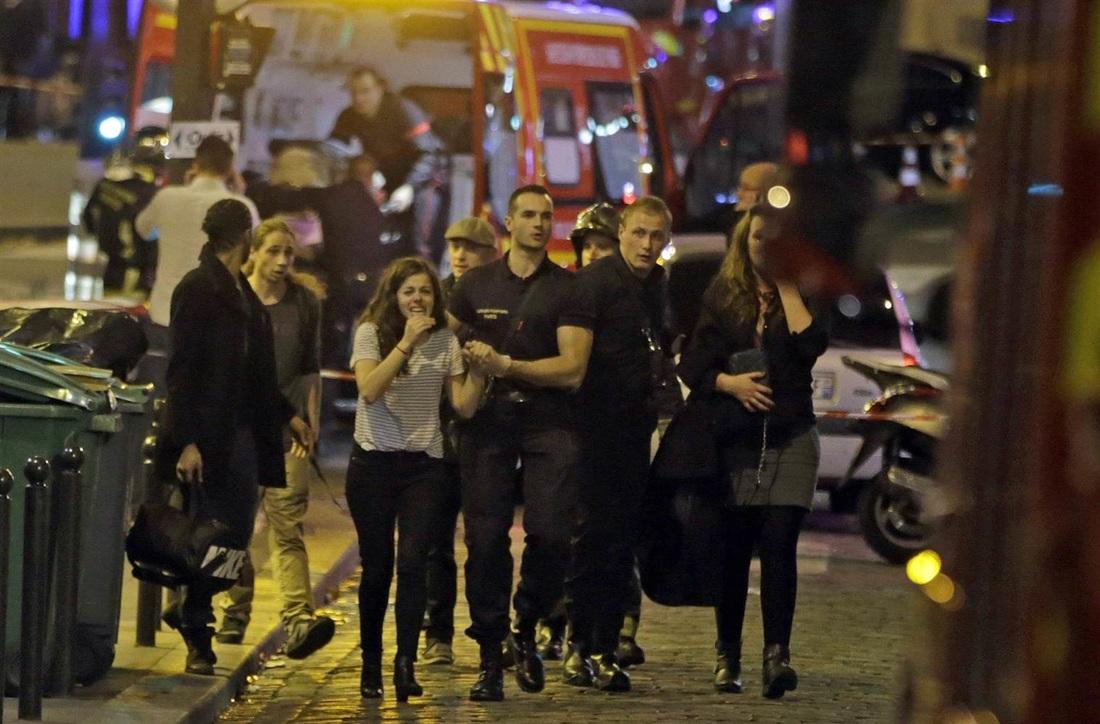 Fiery Shock Waves in France