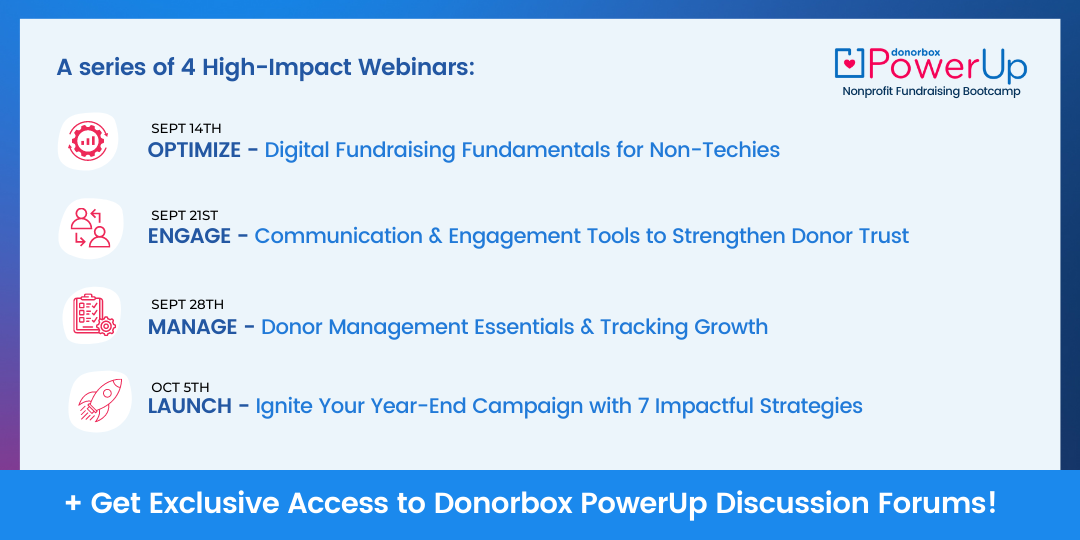 Donorbox PowerUp