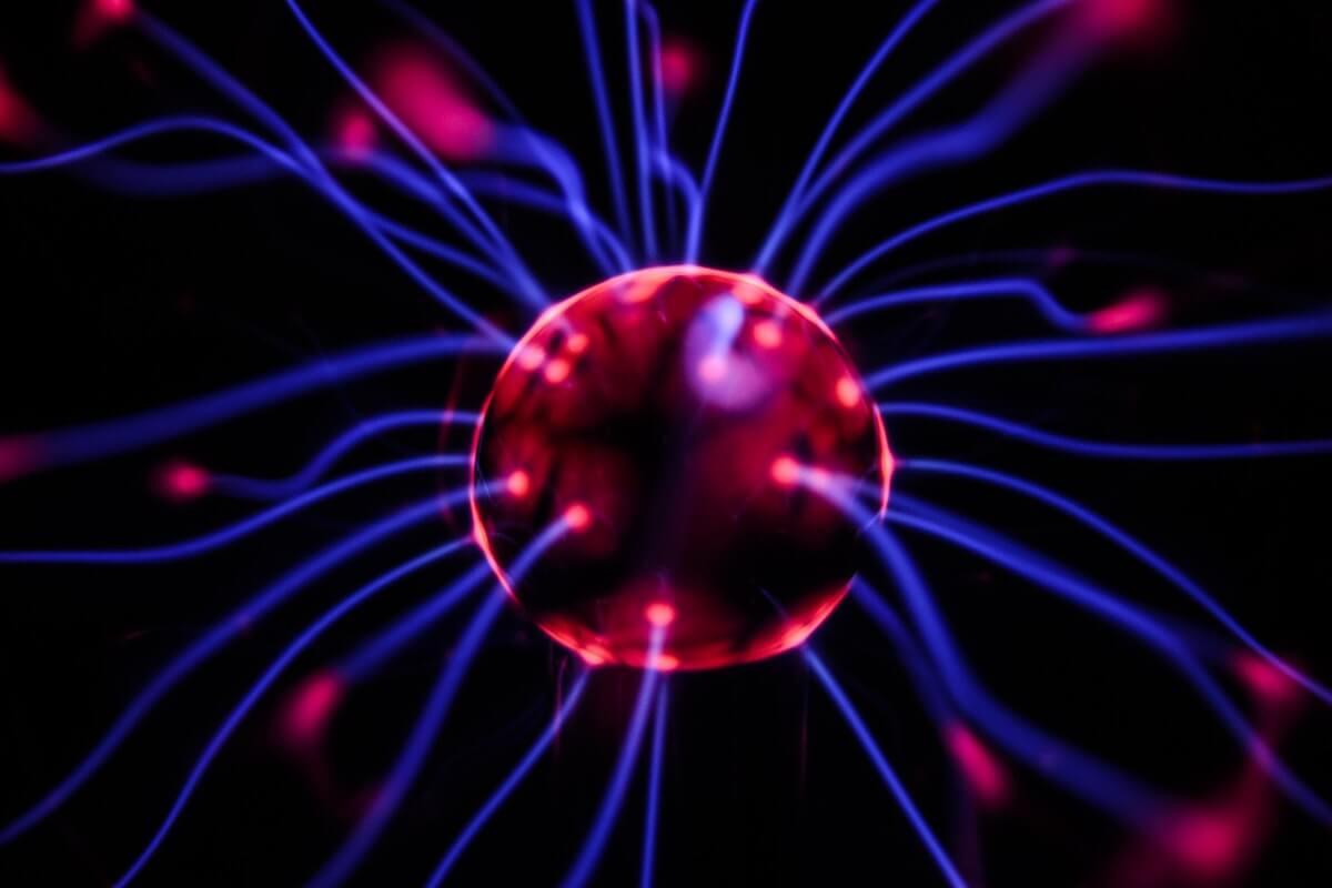 Neurónio em actividade