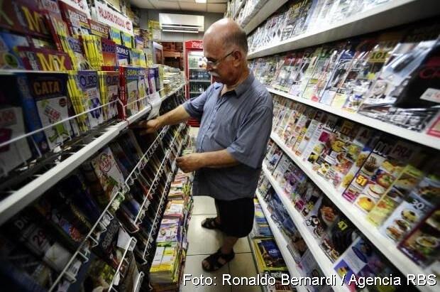Comerciante de revistas de Palavras Cruzadas Brasil