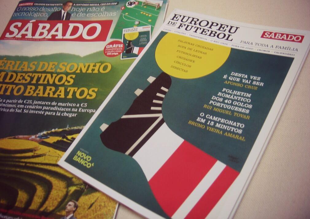 Revista Sábado - Europeu de Futebol 2016