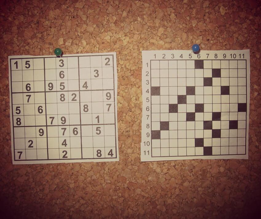 Palavras Cruzadas ou Sudoku