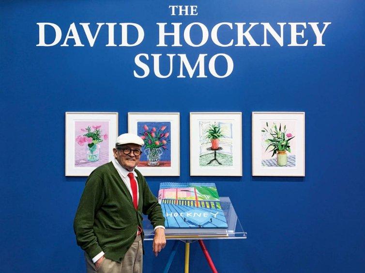 David Hockney A Bigger Book